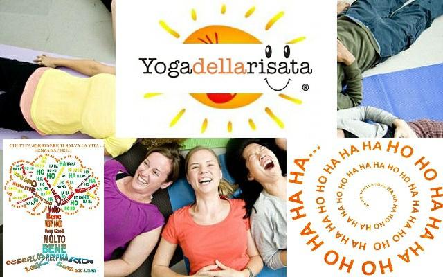 Sessione Di Yoga Della Risata
