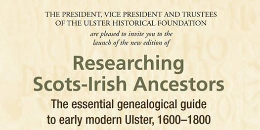 Researching Scots-Irish Ancestors Book Launch