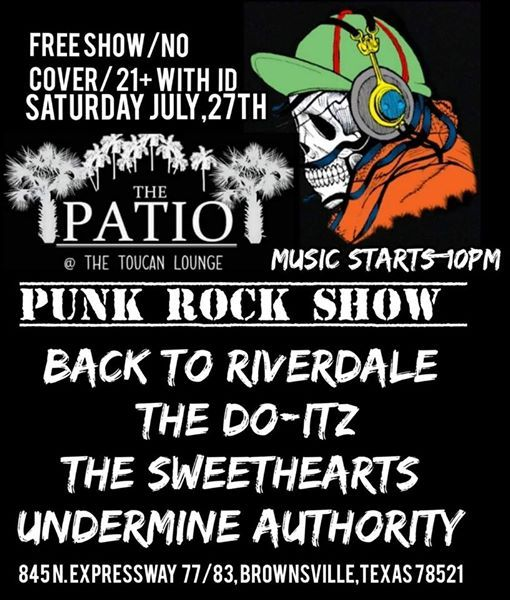Summer Punk Rock Show @ The Patio!!! at Toucan Lounge, Olmito