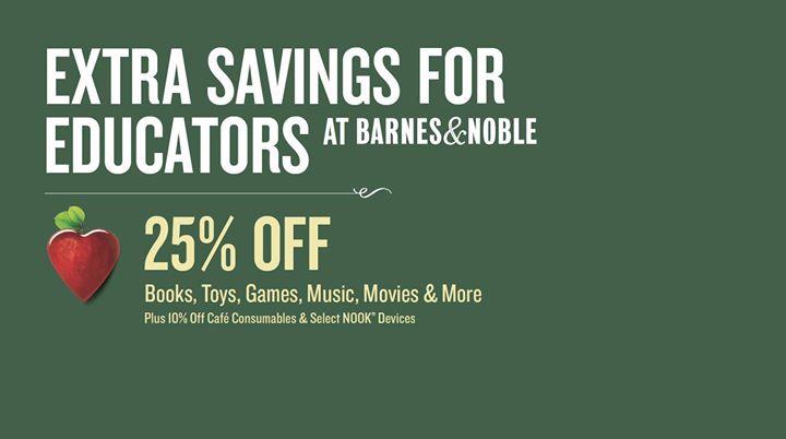 Educator Appreciation Weekends - Save 25%