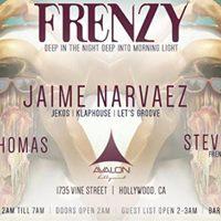Frenzy at Avalon Djs Jaime Narvaez Bernard Thomas &amp Steve Prior