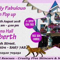 Absolutely Fabulous Vegan Pop up at Queens Hall Narberth