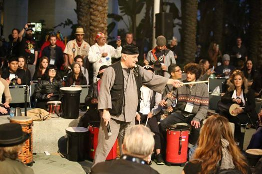 All-industry Drum Circle at The 2019 NAMM Show