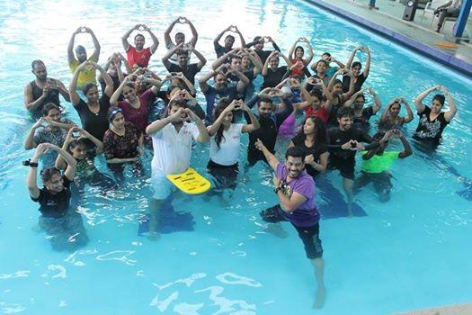 Pool Party  Aqua Zumba on 20-May-18