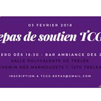 Repas de soutien TCGG 2018