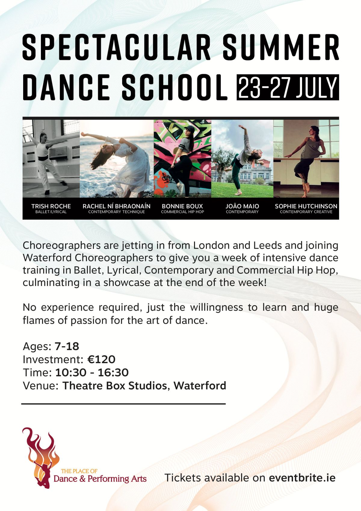 Spectacular Summer Dance Camp
