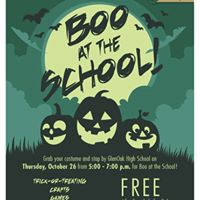 Boo at the School