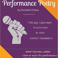 Performance Poetry Workshop