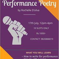 Performance Poetry Workshop