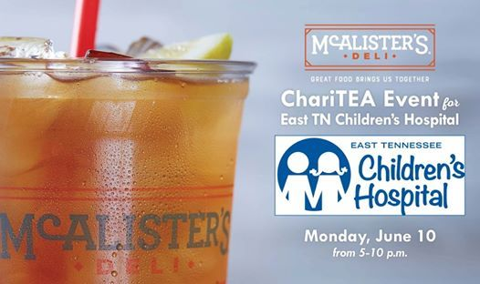 ChariTEA Event: East Tennessee Childrens Hospital at