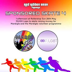 Sponsored Skate for MardiGla
