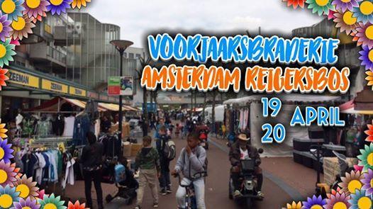 Voorjaarsbraderie Amsterdam Reigersbos