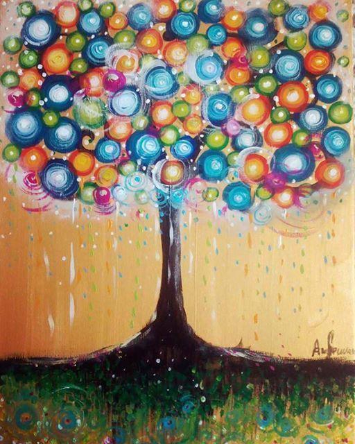 ArtNight Tree of Life am 03052019 in Augsburg