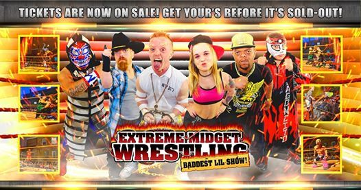 Extreme Midget Wrestling 2 in Waxahachie TX