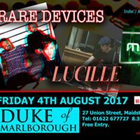 Rare Devices Lucille Muto - Duke Of Marlborough 4th August