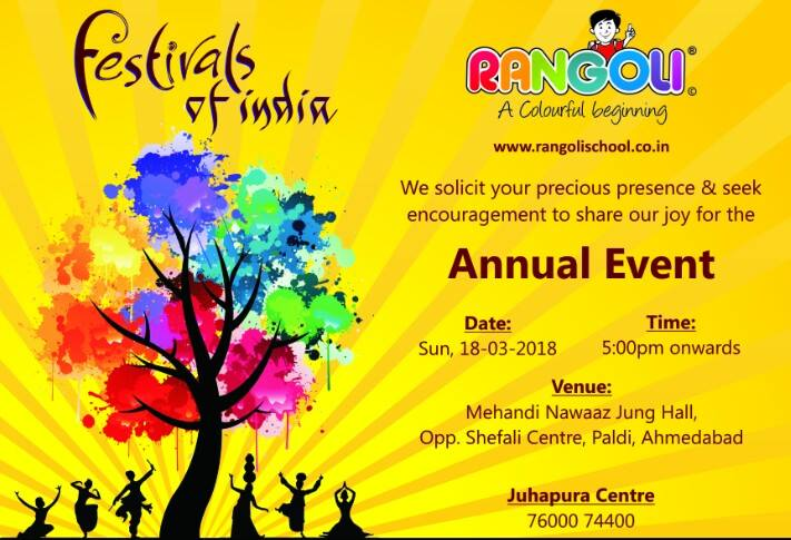Annual day - Rangoli preschool Juhapura center