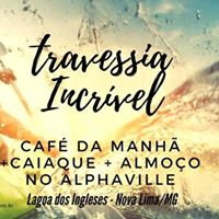 Travessia Incrvel - Caiaque  Almoo No Alphaville