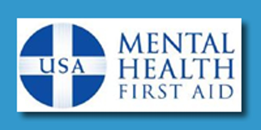 Mental Health First Aid Certification Training Adult At Brooklyn