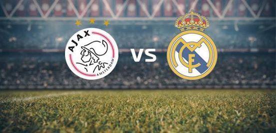 Ajax-real Madrid op groot scherm