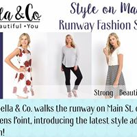 Style On Main Runway Fashion Show