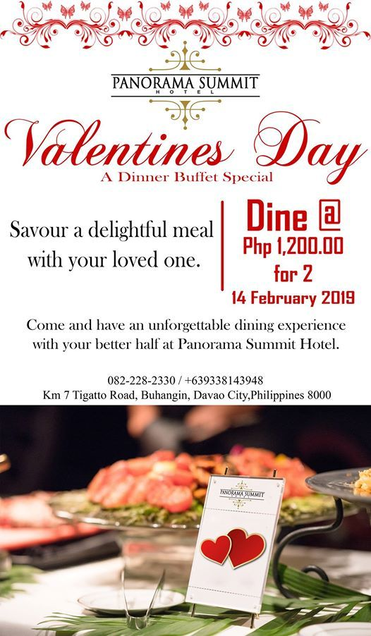 Valentines Day a Dinner Buffet Special