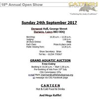 CSG Annual Open Show and Auction