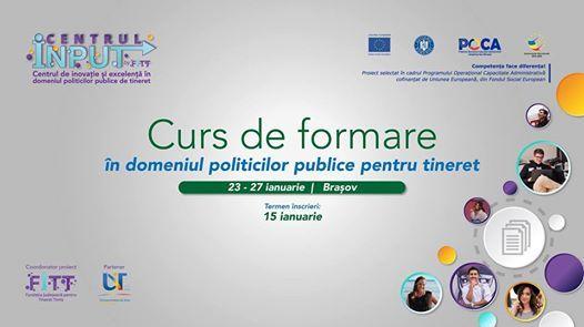 Curs formare n domeniul politicilor publice pentru tineret (4)
