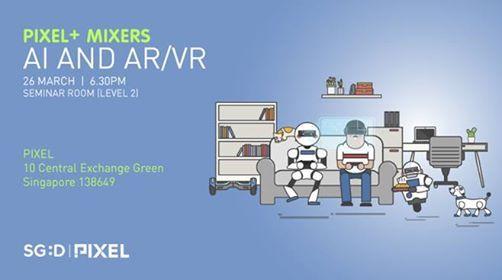Pixel Mixer AI and ARVR