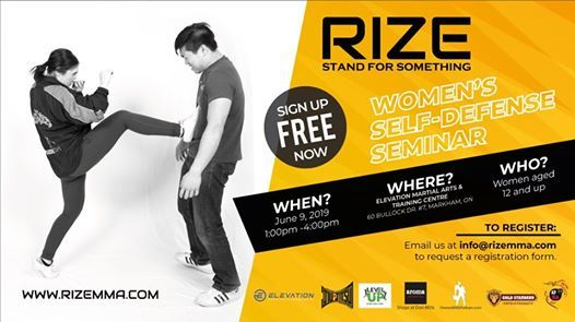 RIZE - Free Womens Self Defense Seminar