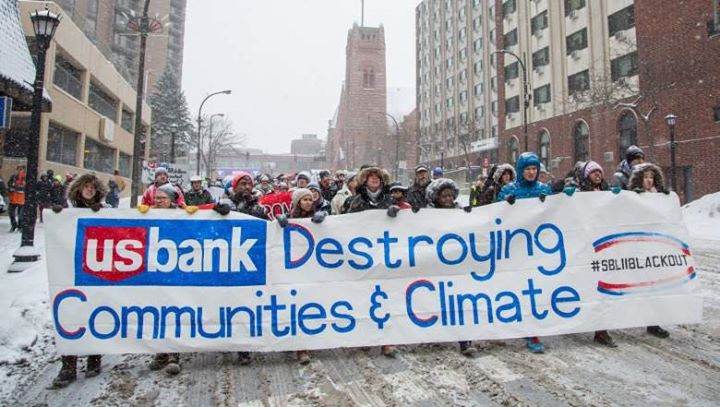 Tell US Bank No ethics awards for a corporate hypocrite DefundETP Now