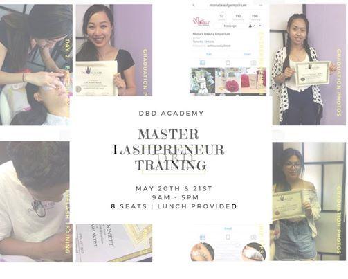Master Lashpreneurship Training