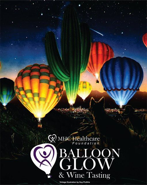 MHC Balloon Glow and Wine Tasting