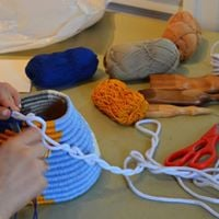 Basketry Functional and Wearable ArtWinter Workspace Workshop