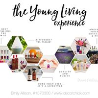 Young Living Essential Oils will be here