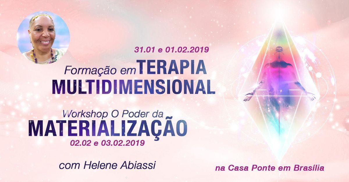 Cursos com Helene Abiassi em BrasliaDF