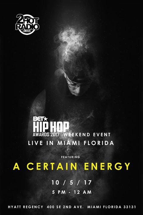 BET Hip Hop Awards Weekend Event