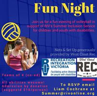 RIV Charity Volleyball Fun Night