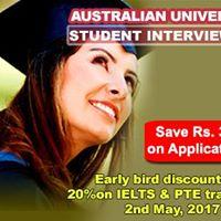 Australian Universities Student Interviews in Mumbai
