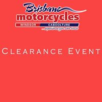 Brisbane Motorcycles Car Park Clearance Event