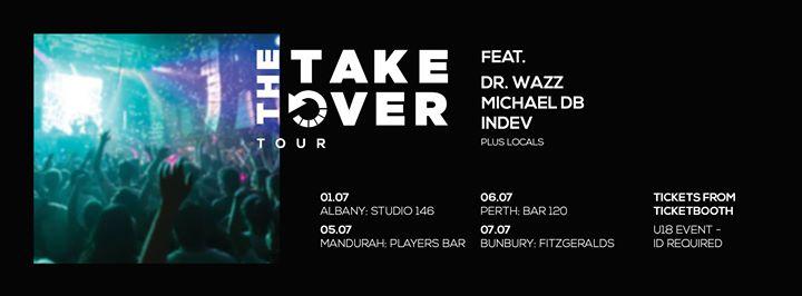 The U18 Project presents The Take Over | Mandurah *Postponed