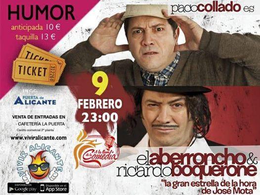 Noche de Humor con Paco Collado El Aberroncho