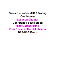 Biometric National ID E-Voting Conference Lebanon Chapter