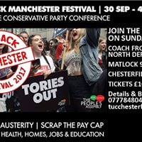 North Derbyshire Transport to Manchester March &amp Rally
