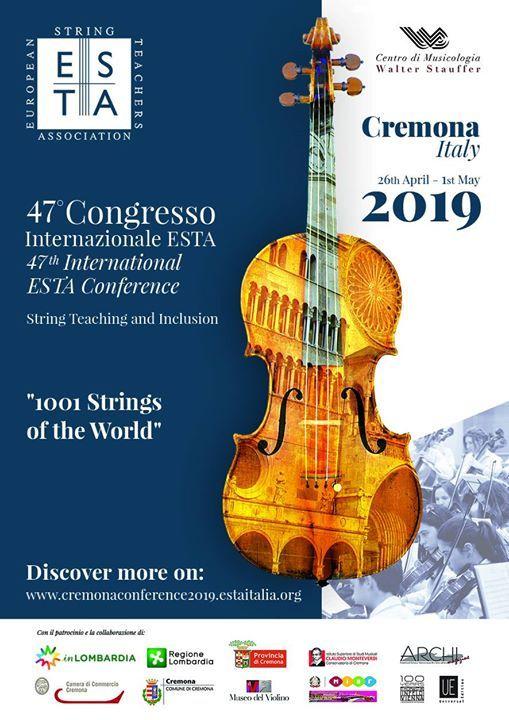47 congresso Internazionale ESTA