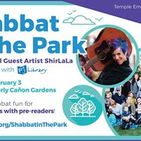 Shabbat in the Park With Shirlala (Spon. by Larry&ampPatty Goodman)