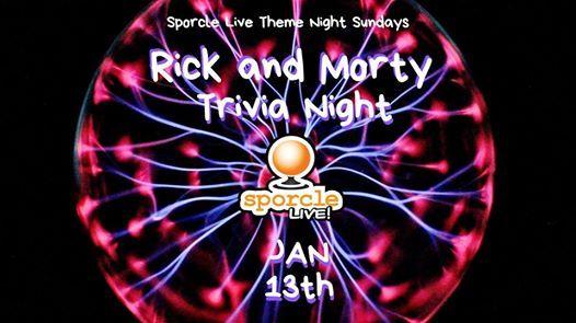 Rick & Morty Trivia - Sporcle Live at Pizza (216)