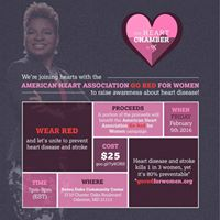 The Heart Chamber Presents American Heart Association  Go Red For Women Awareness and Social Networking