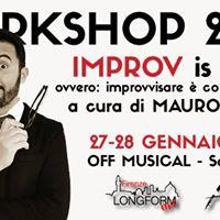 FirenzeLongform Workshop  Improv is Love  Mauro Simolo