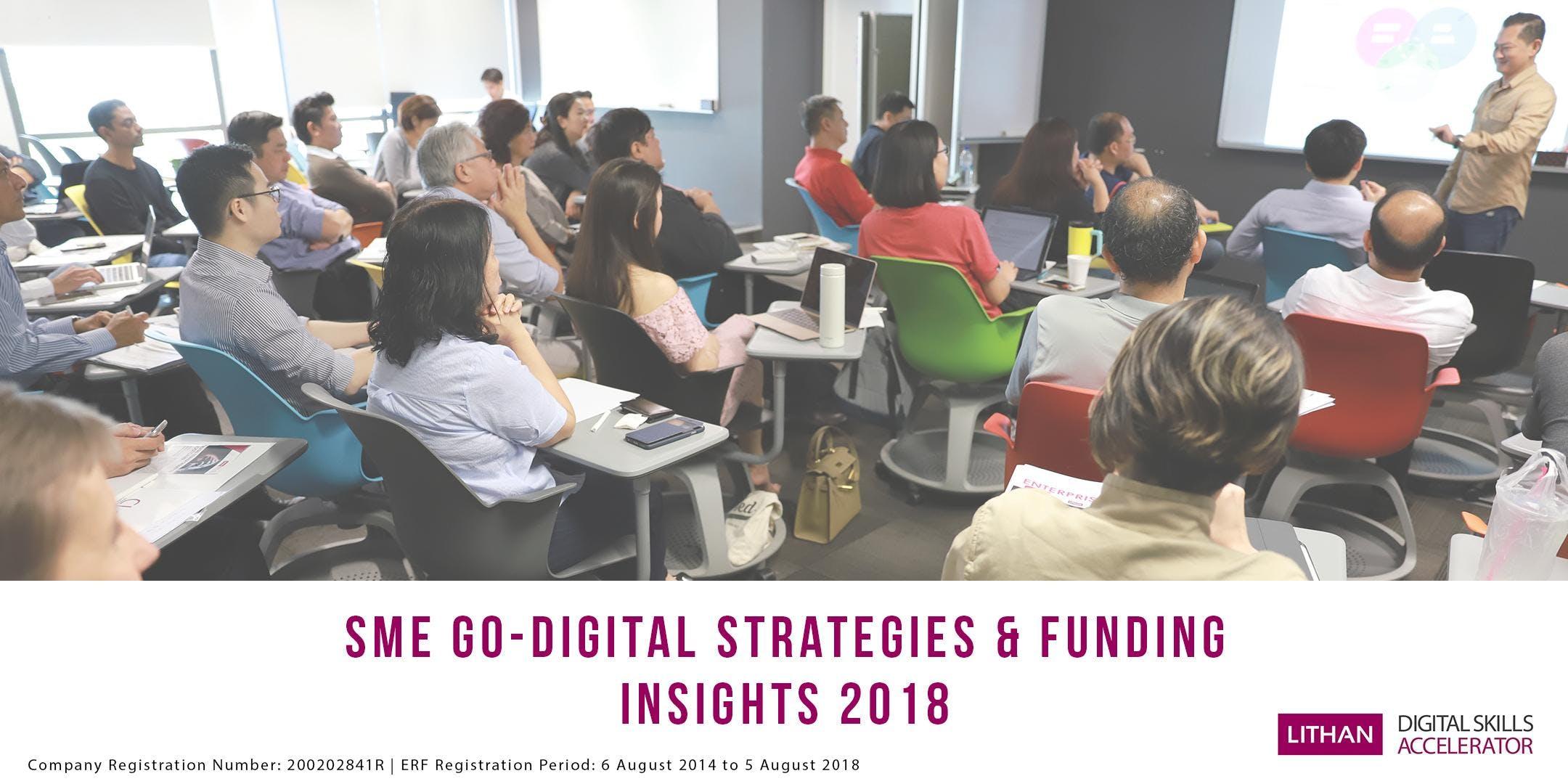 SME Go-Digital Strategies & Funding Insights 2018