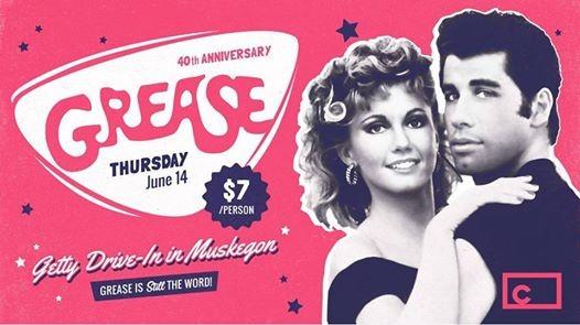 Grease 40th Anniversary At Getty Drive In Theatre Michigan